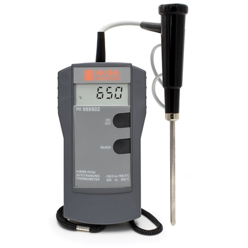 HI955501 4-Wire Pt100 Thermometer