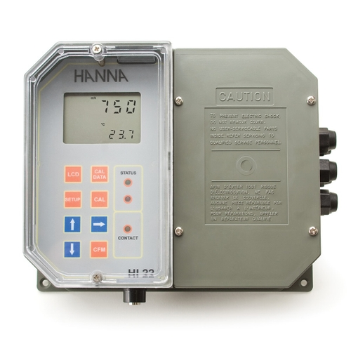 HI22111-2 Wall Mounted ORP Digital Controller with Single Setpoint and Matching Pin
