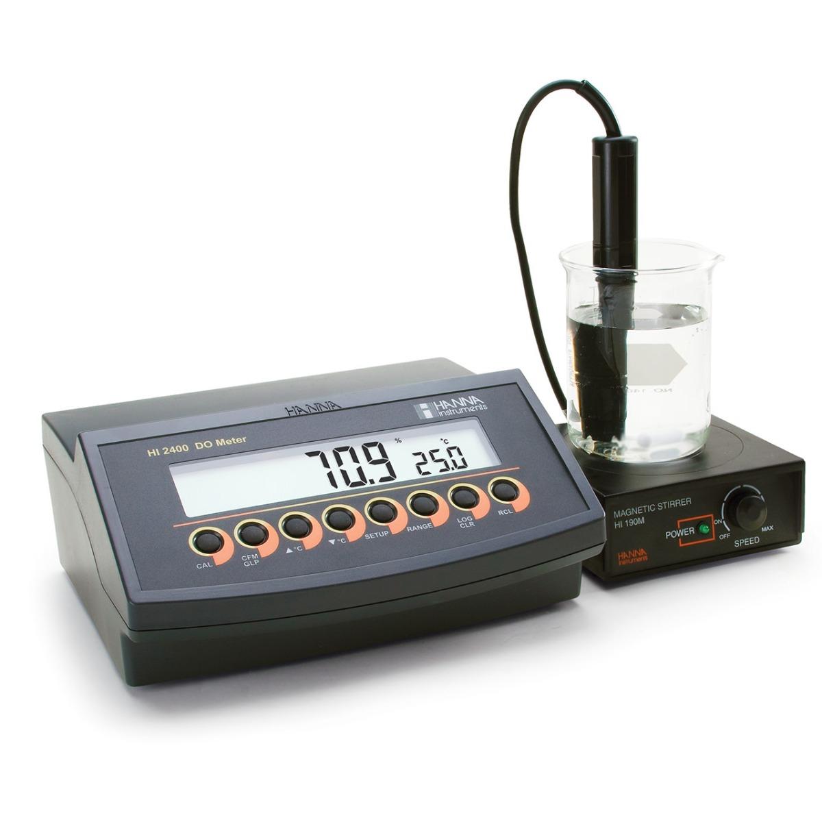 HI2400 Dissolved Oxygen Benchtop Meter