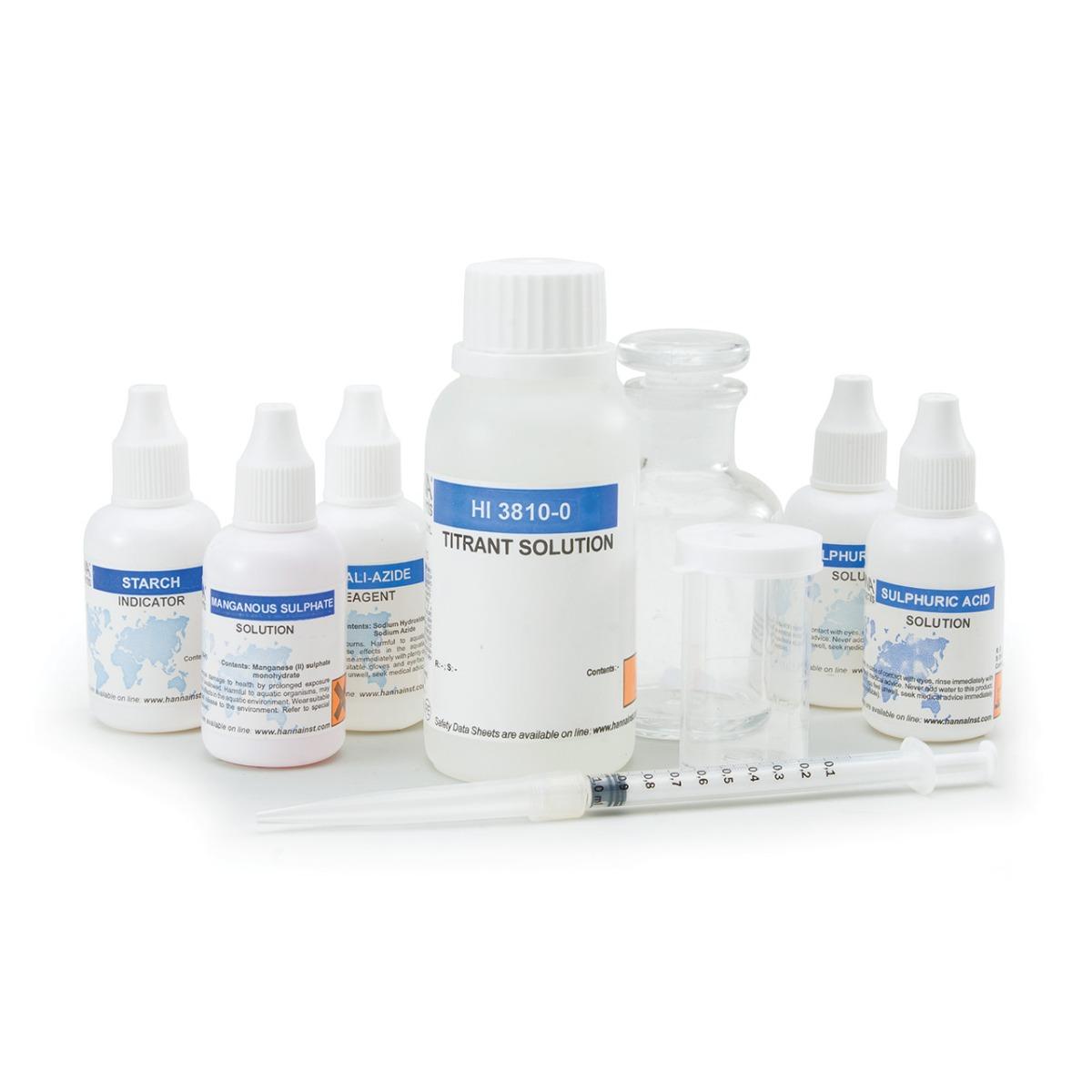 HI3810 Dissolved Oxygen Test Kit