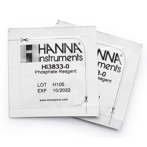 Phosphate Test Kit Replacement Reagents (50 tests) - HI3833-050