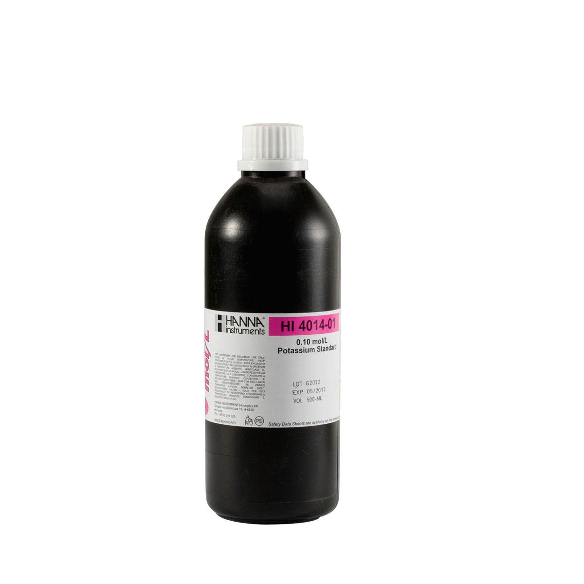 HI4014-01 Potassium Standard 0.1M (500 mL)
