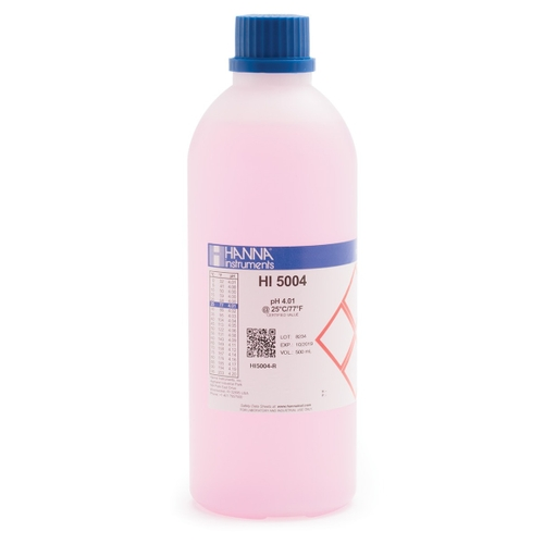 HI5004-R pH 4.01 Technical Calibration Buffer (500 mL)