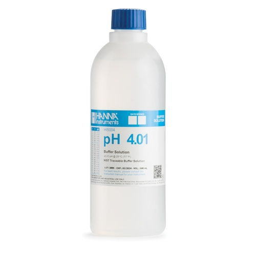 HI5004-01 pH 4.01 Technical Calibration Buffer (1L)