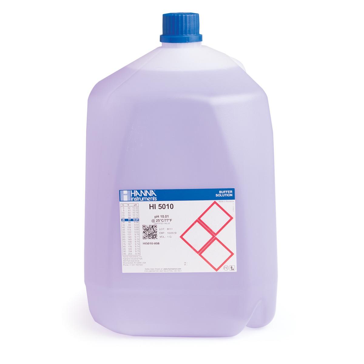 HI5010-V08 pH 10.01 Technical Calibration Buffer (1G (3.78L))