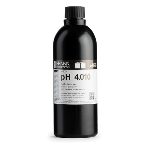 HI6004 pH 4.010 Millesimal Calibration Buffer (500 mL)