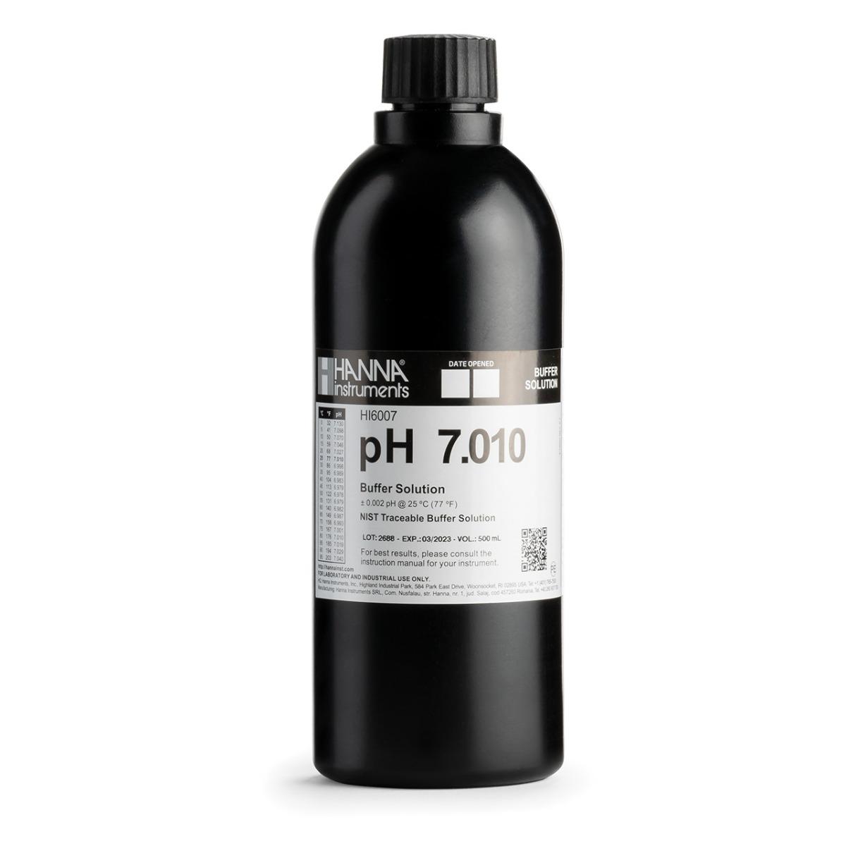 HI6007-01 pH 7.010 Millesimal Calibration Buffer (1 L)