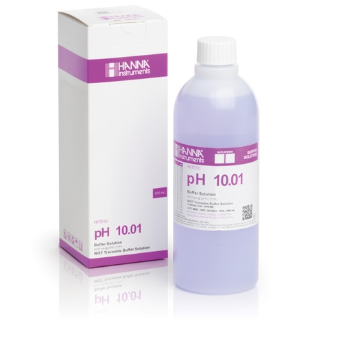 HI7010C pH 10.01 Calibration Solution (500 mL)
