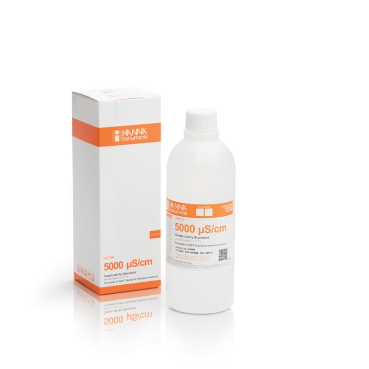 5,000 μS/cm Conductivity Standard (1 L bottle) – HI7039/1L