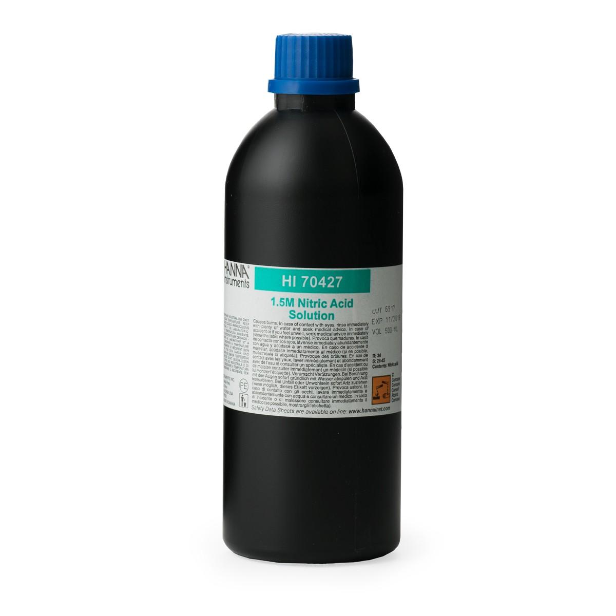 Nitric Acid Solution 1.5M, 500 mL - HI70427
