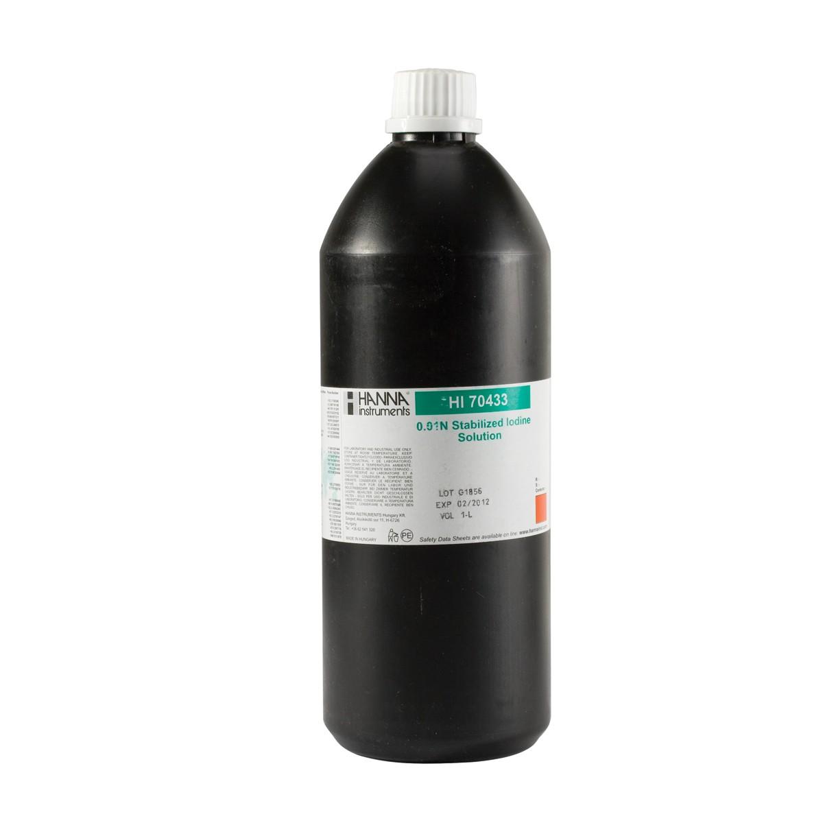 Stabilized Iodine 0.01N, 1L - HI70433