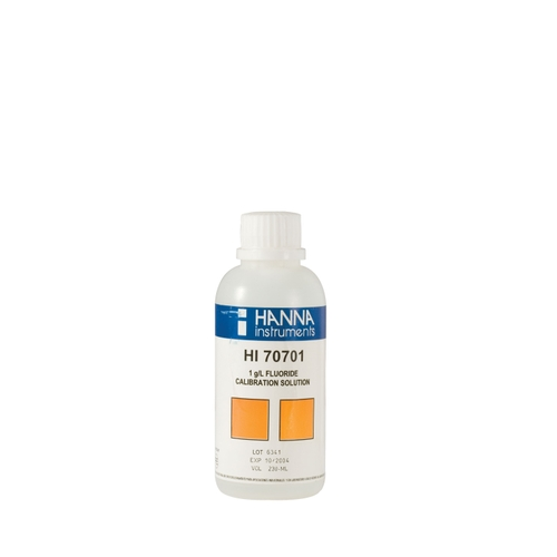 HI70701M Fluoride Standard Solution 1 g/L (230 mL)
