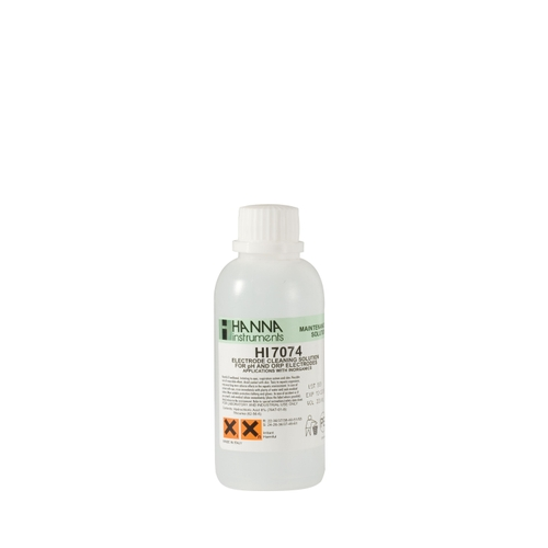 HI7074M Cleaning Solution for Inorganic Substances (230 mL)