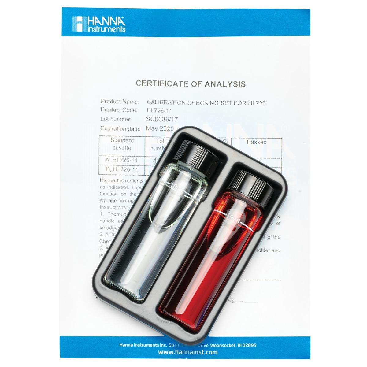 HI726-11 Nickel High Range Checker® HC Calibration Set