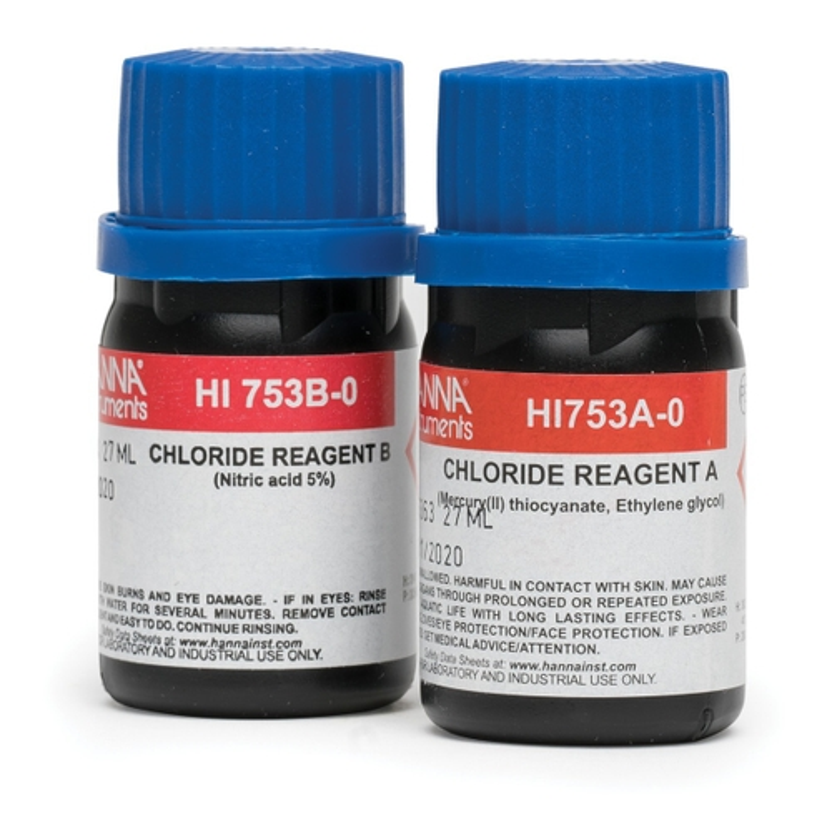 Chloride Checker® HC Reagents (25 Tests) - HI753-25