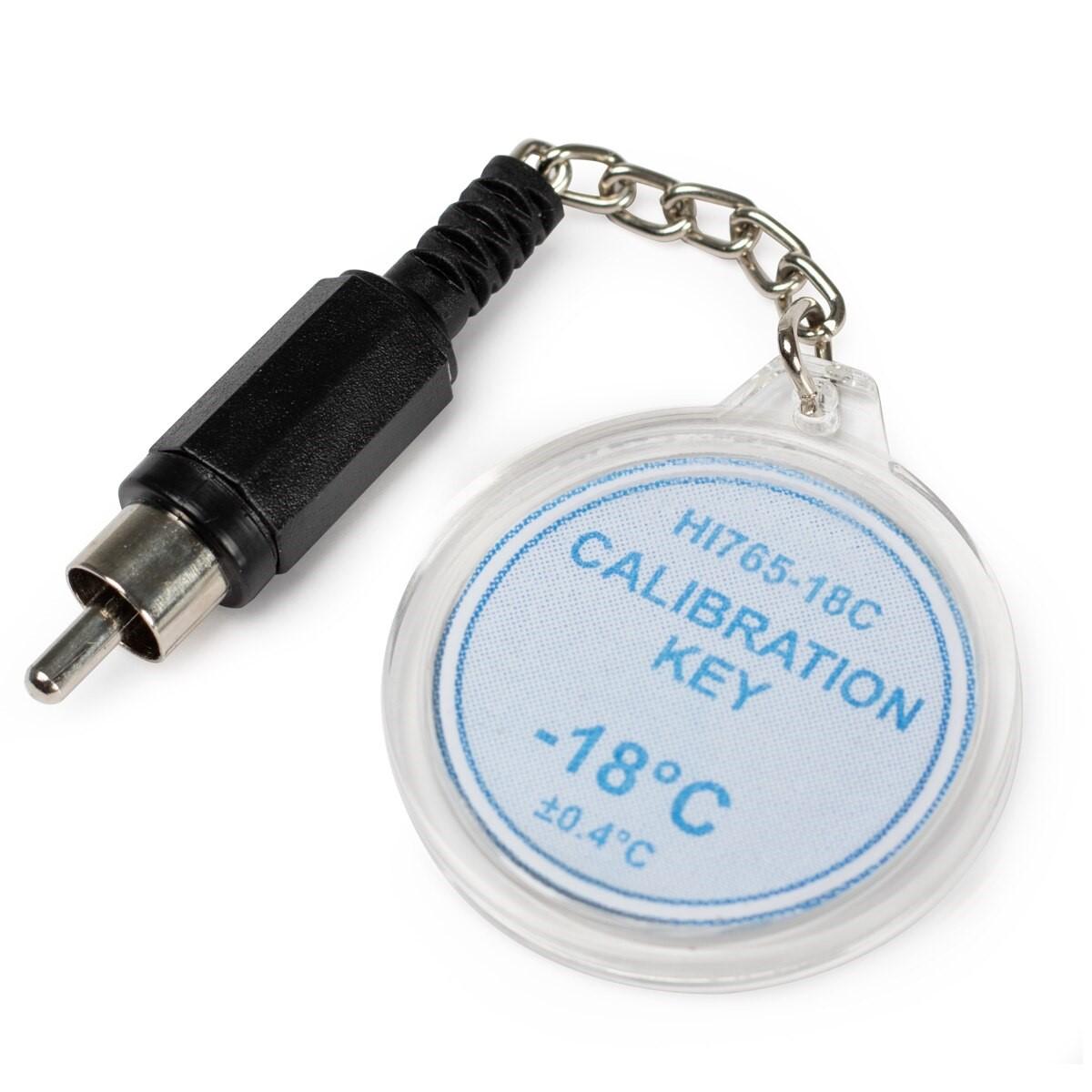 HI765-18C Calibration Check Key at -18°C (HI765 Probes)