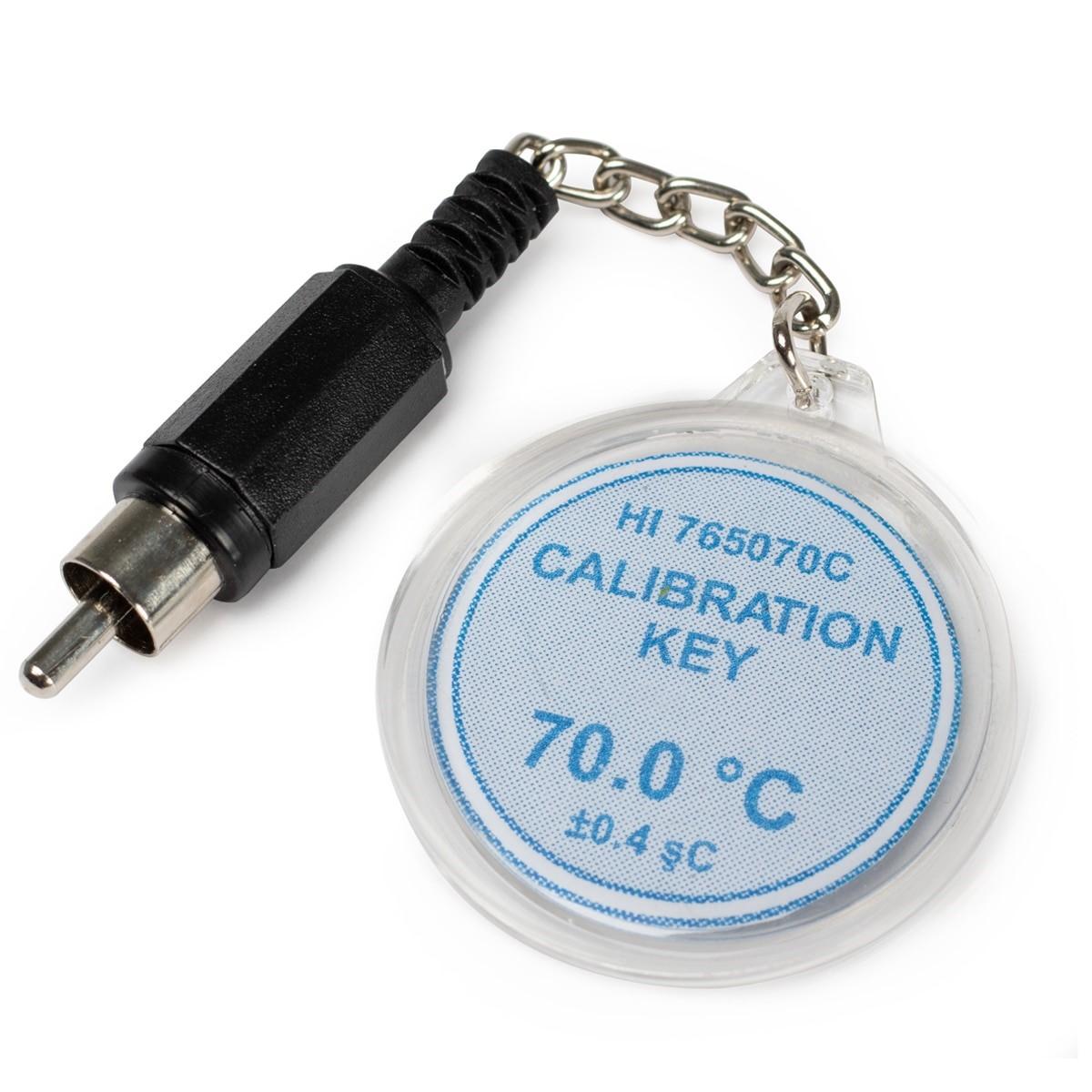 HI765070C Calibration Check Key at 70°C (HI765 Probes)