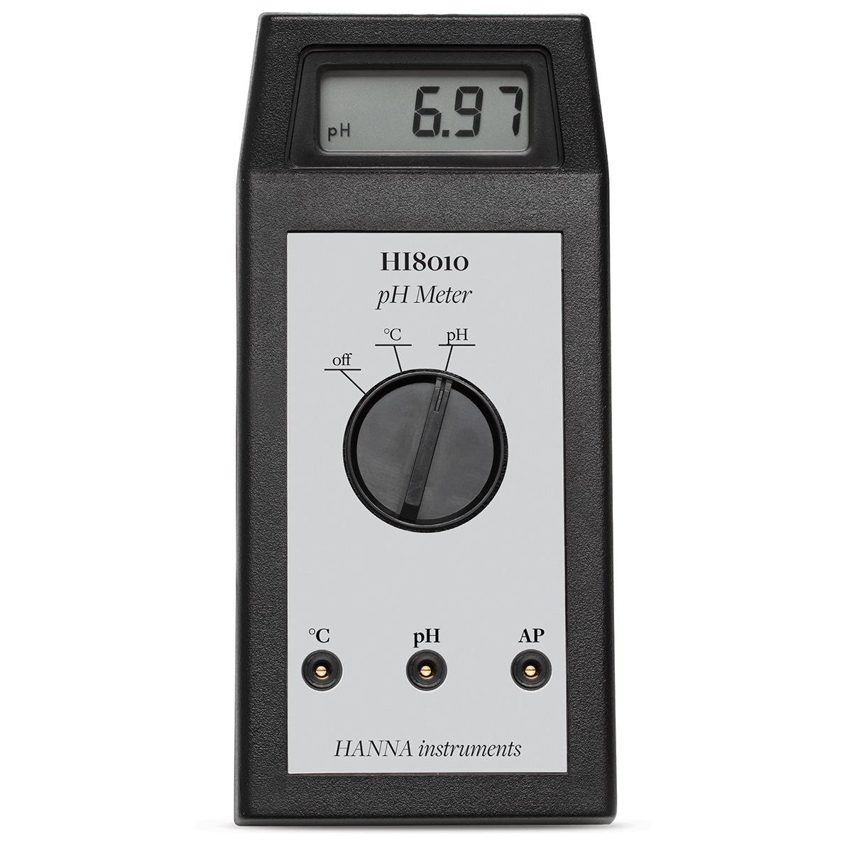 Portable pH Meter - HI8010