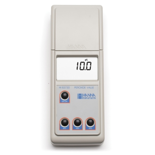 HI83730 Portable Photometer for Determination of Peroxide Value in Oils