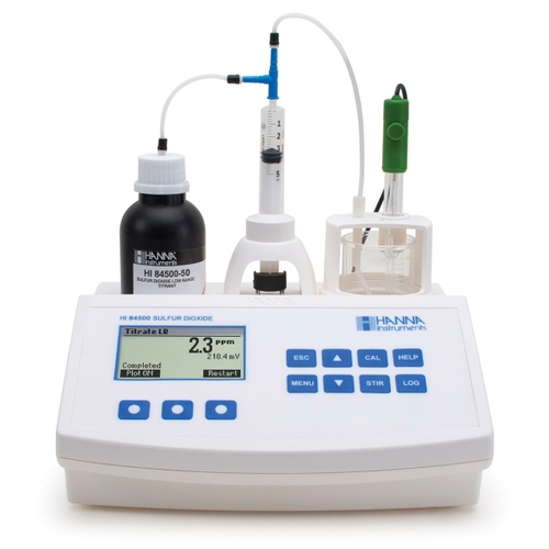 HI84500 Sulfur Dioxide Mini Titrator for Wine Analysis