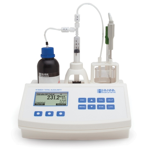 HI84531 Titratable Alkalinity Mini Titrator for Water Analysis