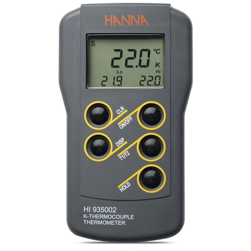 HI935002 Dual Channel K-Type Thermocouple Thermometer