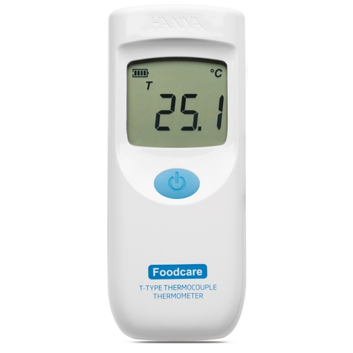 HI935008 Foodcare T-Type Thermocouple Thermometer with Fixed Attached Probe