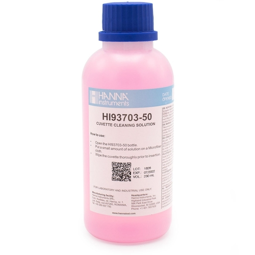 HI93703-50 Cuvette Cleaning Solution (230 mL)
