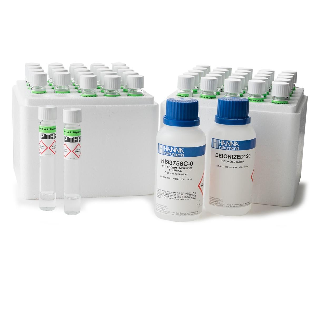 Total Phosphorus High Range Reagents - HI93763B-50