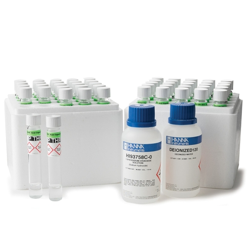 Total Phosphorus High Range Reagents with Barcode Recognition - HI94763B-50