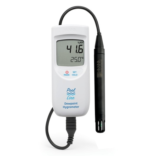 Pool Line Thermo Hygrometer with Dewpoint – HI95654