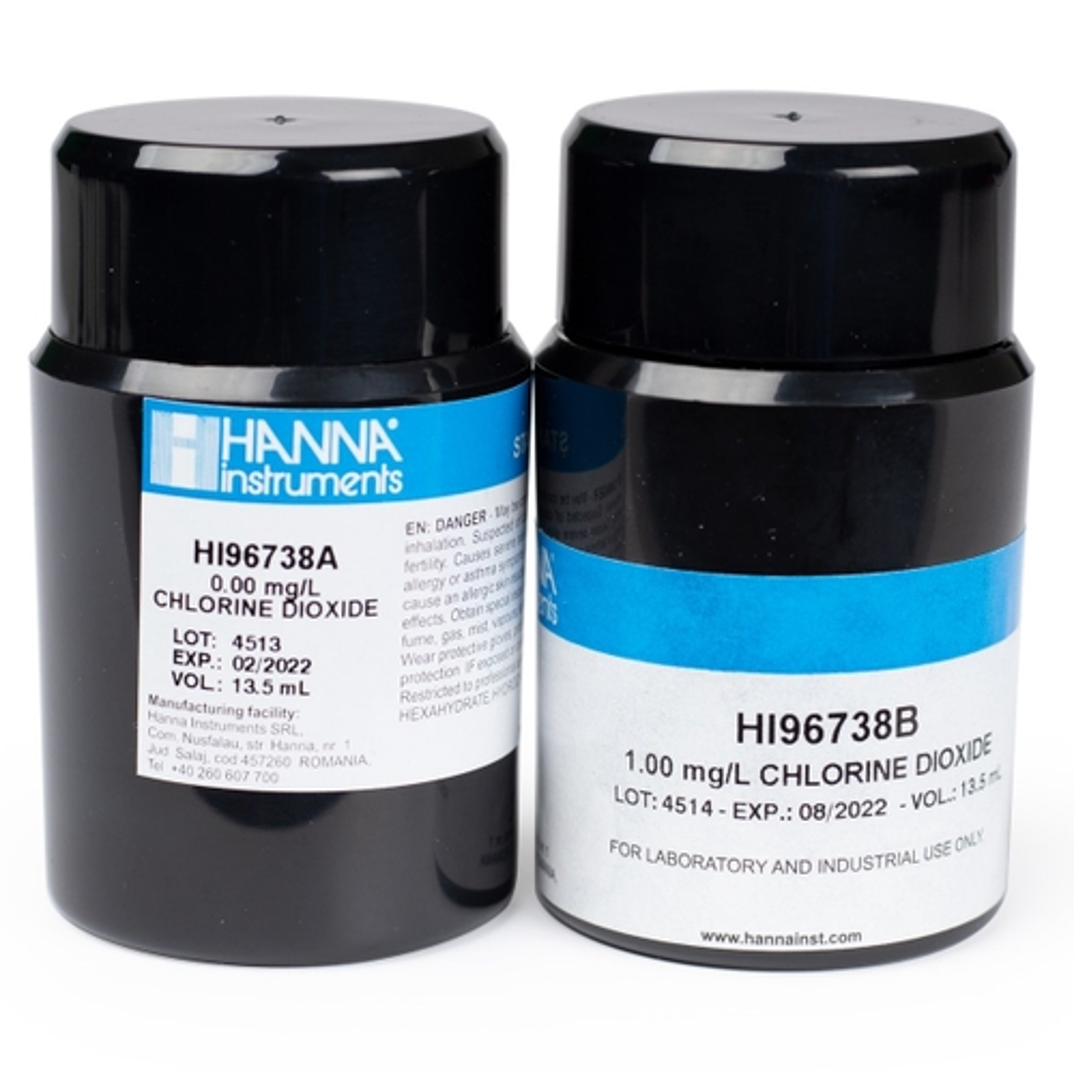 HI96738-11 Chlorine Dioxide CAL Check™ Standards