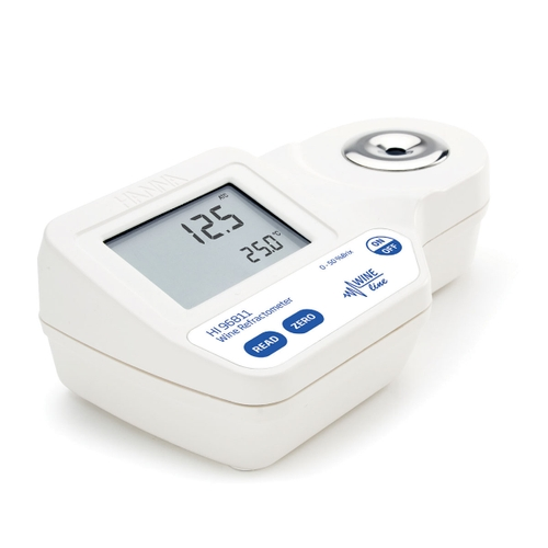 HI96811 Digital Refractometer for Brix Analysis in Wine