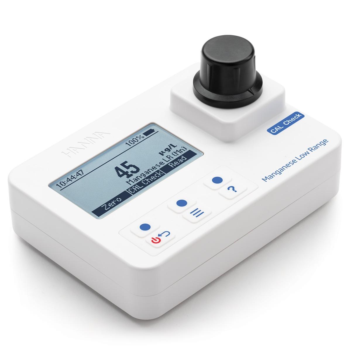 Manganese Low-Range Portable Photometer with CAL Check – HI97748