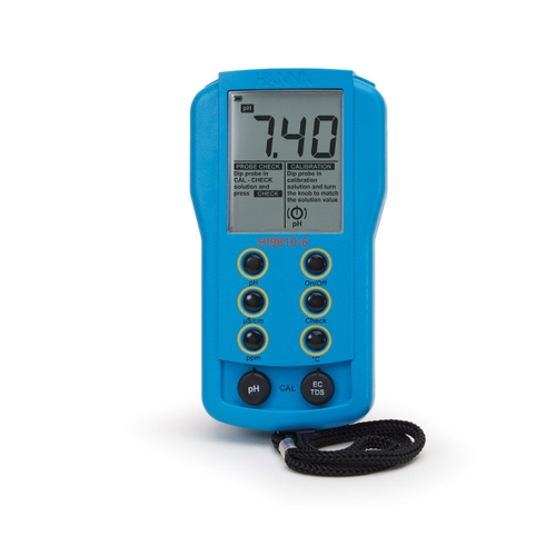 HI9810-6 Portable pH/EC/TDS Meter