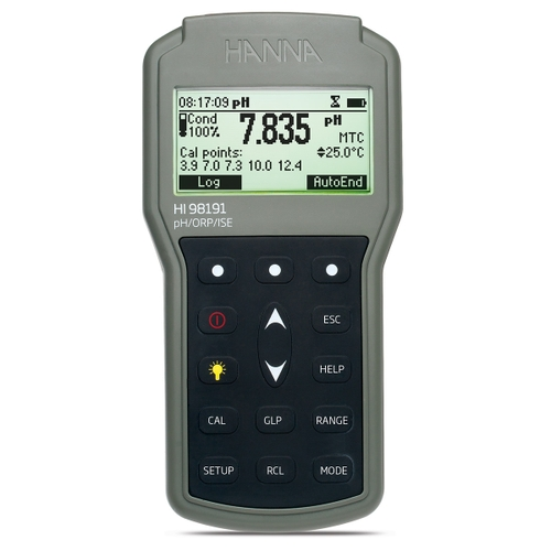 HI98191 Waterproof Portable pH/ORP/ISE Meter