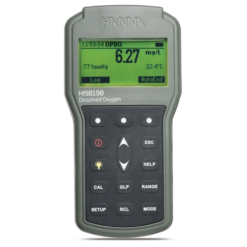 HI98198 portable optical dissolved oxygen meter