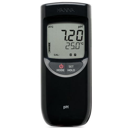HI991001 Waterproof Portable pH/Temperature Meter