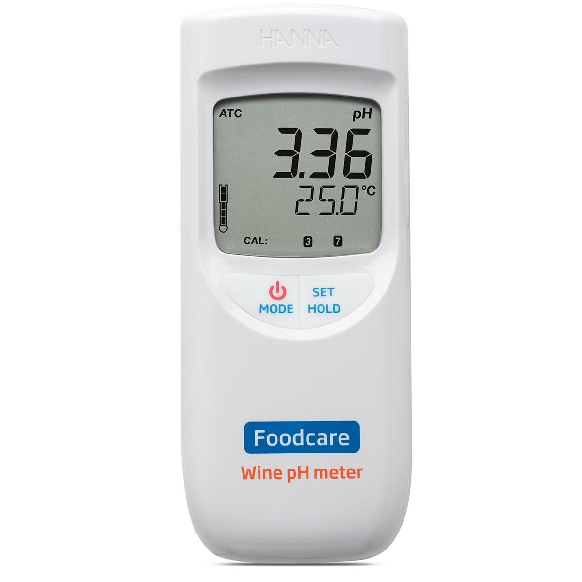 Portable Wine Must and Juice pH Meter - HI99111