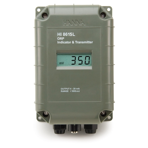ORP Transmitter with 4-20 mA Galvanically Isolated Output with LCD  - HI8615