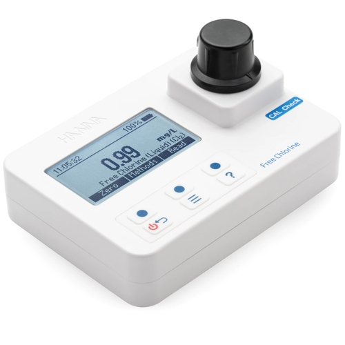 Free Chlorine Portable Photometer with CAL Check - HI97701