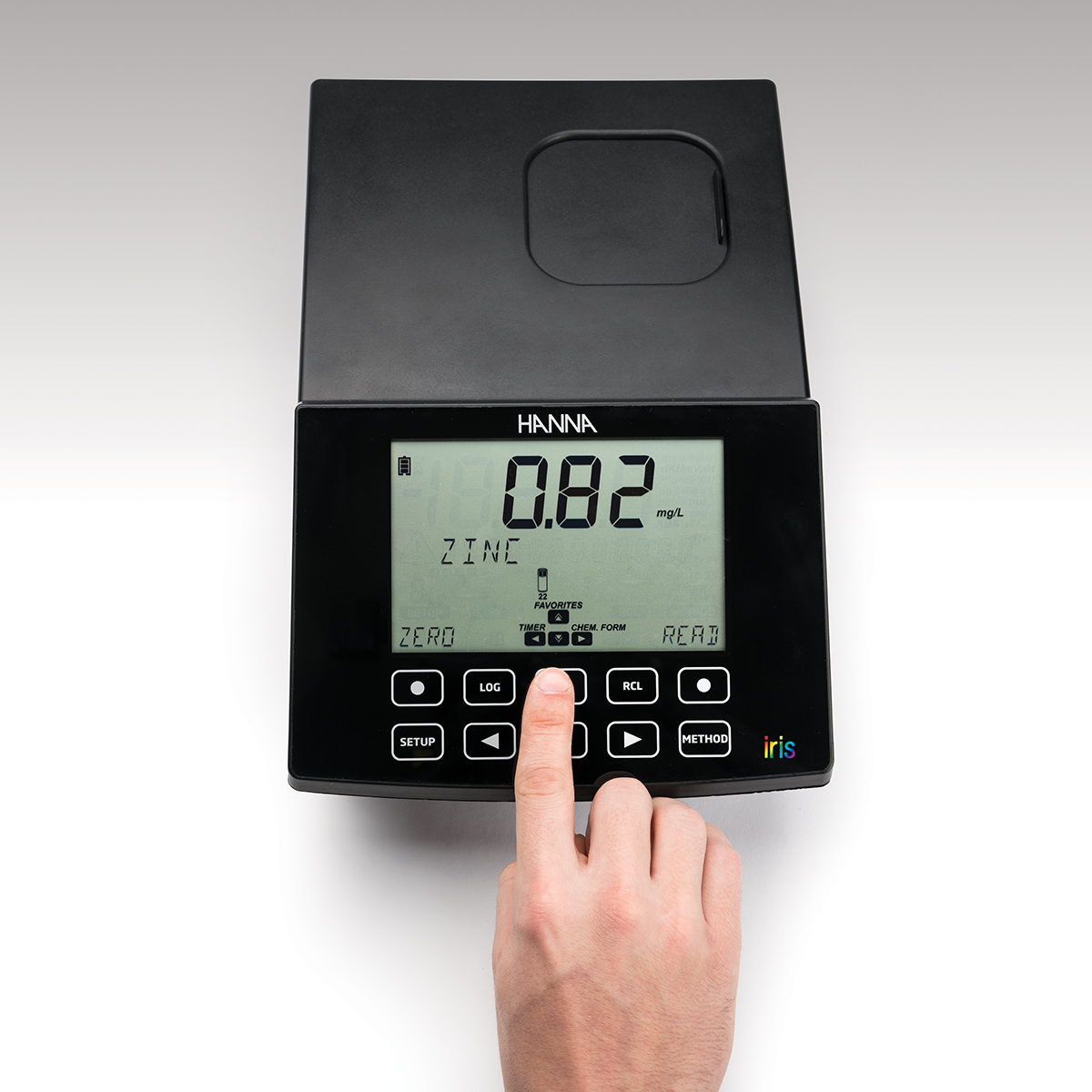 iris spectrophotometer
