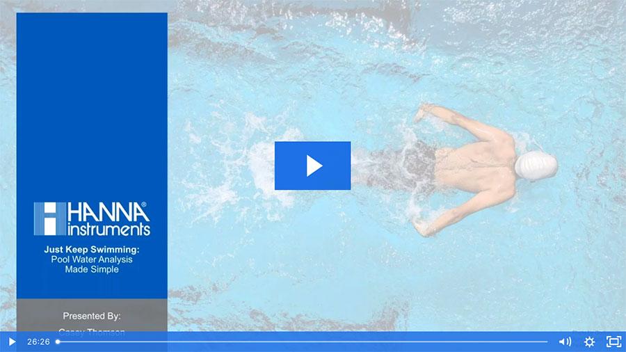 Pool Water Analysis Webinar