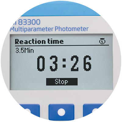 Built-in reaction timer