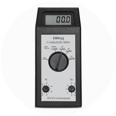 1980 — World's first single-probe portable conductivity meter