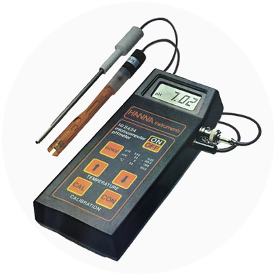 1984 — World's first microprocessor-based hand held pH meter