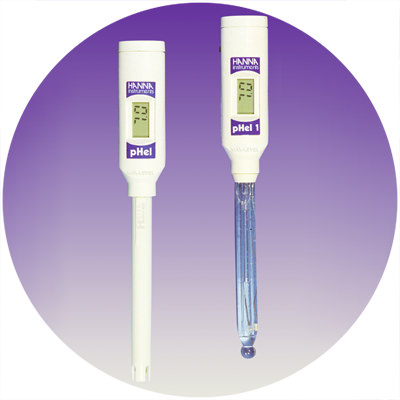 1997 — World's first pH tester with double junction electrode
