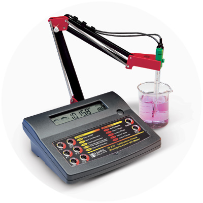 2003 — World's first pH meter with CAL Check