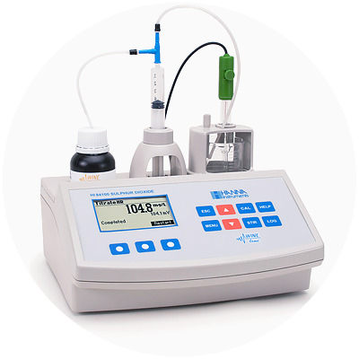 2005 — World's first single parameter line of auto titrators for wine testing