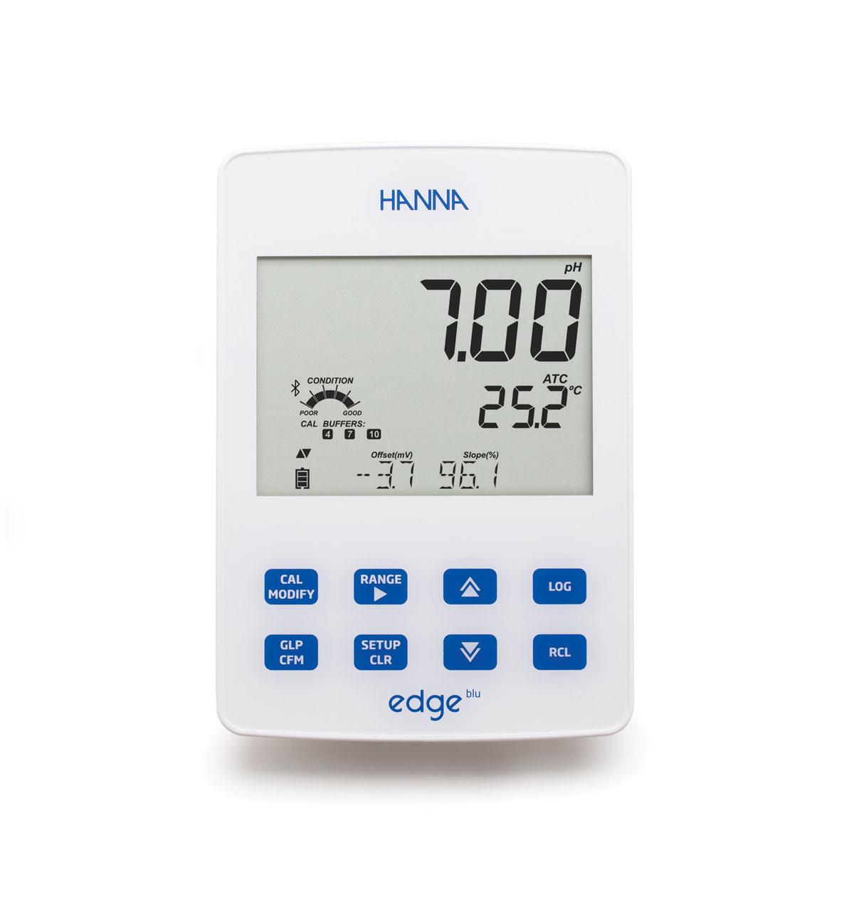 hi2002 edge pH meter wall mount